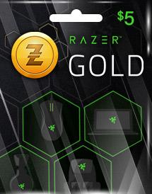 Rixty : 5 USD Razer - Rixty Prepaid Game Card (US)